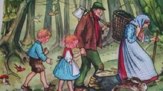 Hänsel und Gretel in der Traube